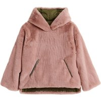 Hobo Faux Fur Reversible Anorak