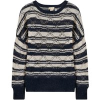 Dasil Openwork Striped Jumper
