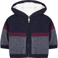 Cotton Cashmere Hooded Cardigan