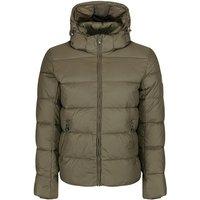 Spoutnic Matte Down jacket with Remouvable Hood