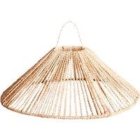Parasol rope pendant lamp