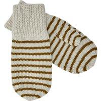Striped Wool Mittens