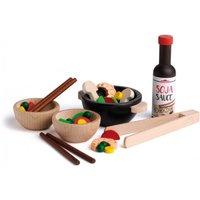 Stir Fry Wooden Toy Set