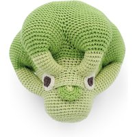 Crocheted Musical Broccoli Toy