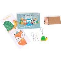 Les Petits Grigris Foufous Shrink Plastic Kit