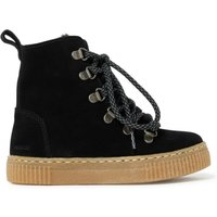 Lace up Furry Boots