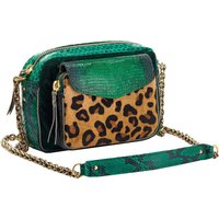 Charly Python Leopard Bag