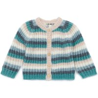 Mohair Striped Cardigan