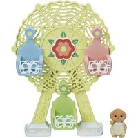 Ferris Wheel and Baby Poodle Toy