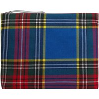 Bi-material Clutch Pouch - Women's Collection -