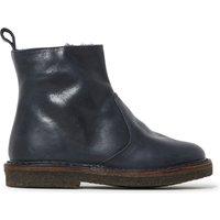 Zip Furry Boots