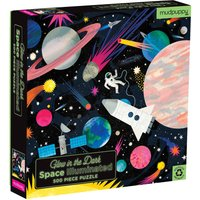 Glow In The Dark 500-Piece Outerspace Puzzle