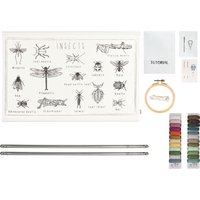 Inset DIY Poster Embroidery Kit