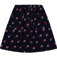 Velour heart skirt