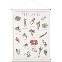 Vegetables Embroidered Poster