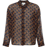 Metro Floral Lurex Shirt  - Women's Collection -
