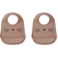 Tilda Cat silicone bibs - Set of 2
