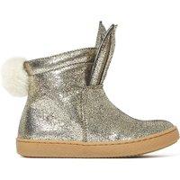 Rabbit Pompon Boots