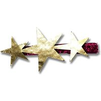 Metallic Star Hair Barrette