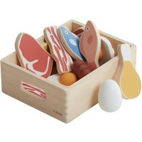 Fish & Meat Toy Crate - 16 pieces
