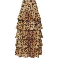 Marzia Leopard Skirt