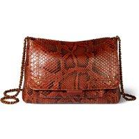 Lulu M Python Bag