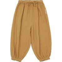 Capybara double cotton gauze trousers