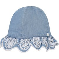Chambray Embroidered Hat