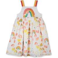 Rainbow organic cotton dress