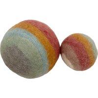 Felt Wool Balls - Set of 2