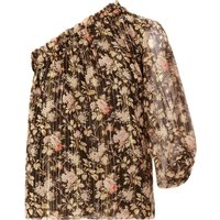 Floria Lurex Silk Blouse