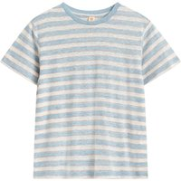 Mio Striped Linen T-shirt