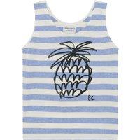 Striped Pineapple Organic Cotton Tank Top