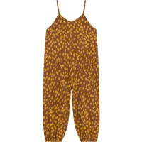 Organic Cotton Leopard Jumpsuit
