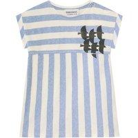 Organic Cotton Striped T-Shirt Dress