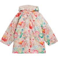 Liberty Nimper Fur-lined Raincoat
