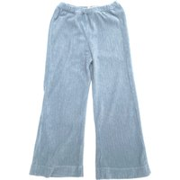 Terry cloth organic cotton trousers