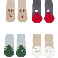 Set of 4 Merry Socks