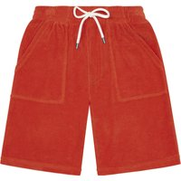 Terry Cloth Bermuda Shorts