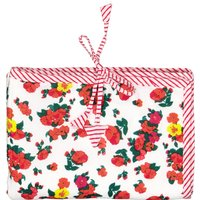 Alice Flowers printed travel changing mat