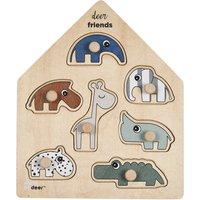 Deer Friends Wooden Puzzle