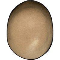 Oval ceramic plate