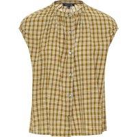 Checkered neighbor blouse
