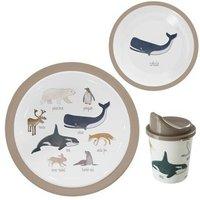 Arctic Melamine Tableware Set of 3