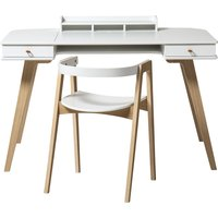 Wood Desk and Chair, 72 cm