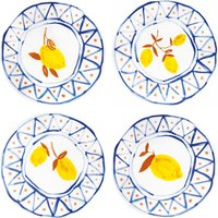 Moroccan Lemon Plates - Set of 4