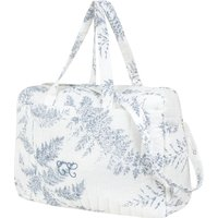 Leaf-Print Changing Bag & Blanket