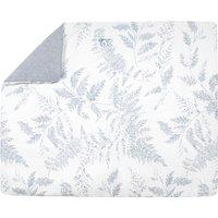 Leaf-Print Blanket