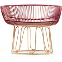 Circo Armchair with Metal Base