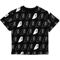 Glow-in-the-dark Ghost T-shirt, Organic Cotton - Halloween Collection -